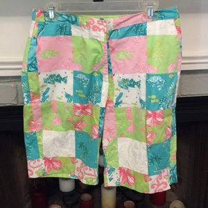 Lilly Pulitzer Bermuda Shorts Size 10